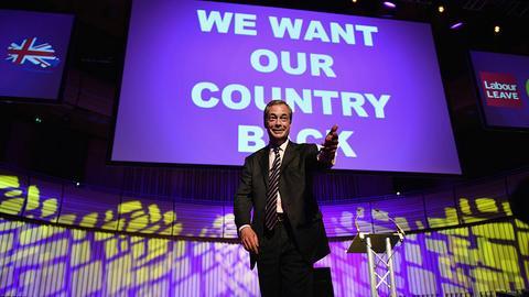 Kto zagrałby Nigela Farage'a?