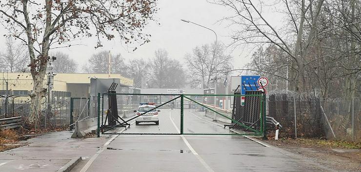 Reske 2, prelaz na srpsko-mađarskoj granici zatvoren je od jutros