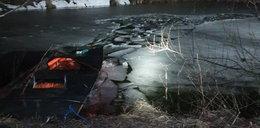 Pod trzema chłopcami zarwał się lód! Kacper nie przeżył