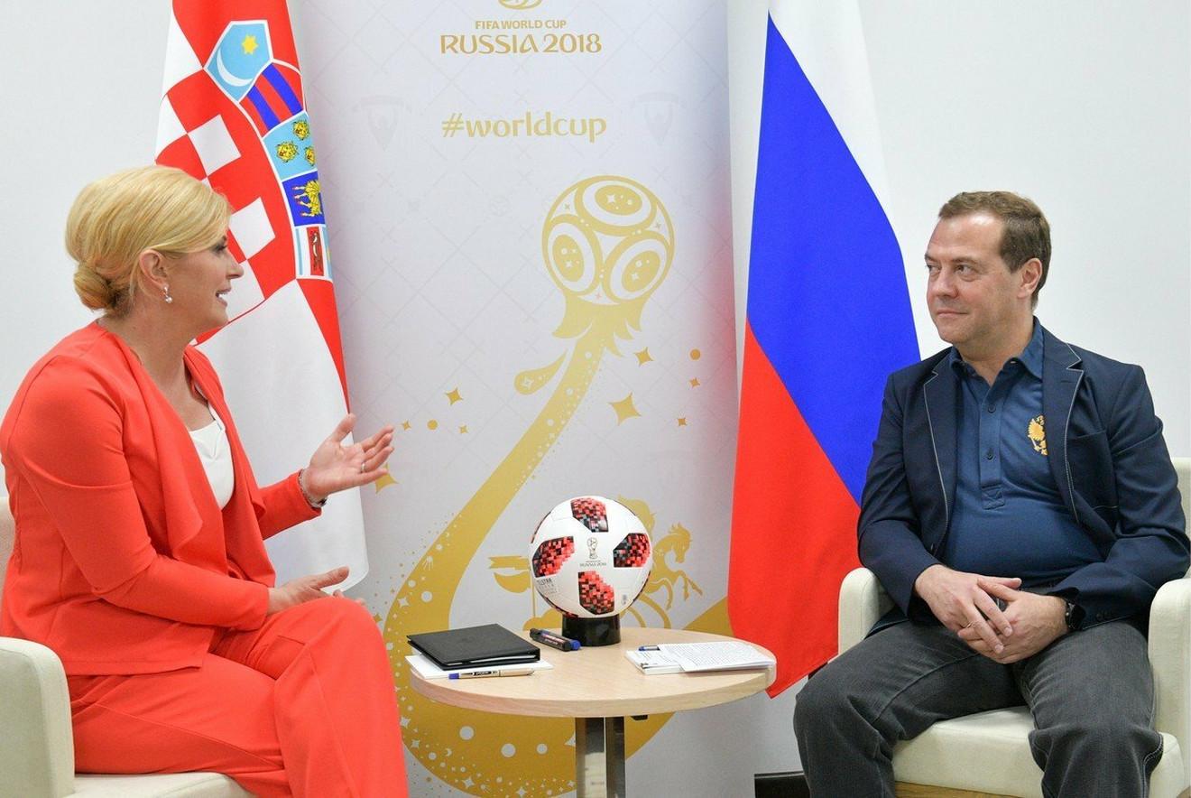 Na sastanku sa Medvedevim pre četrii dana