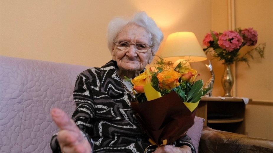 Tekla Juniewicz, najstarsza Polka kończy 115 lat