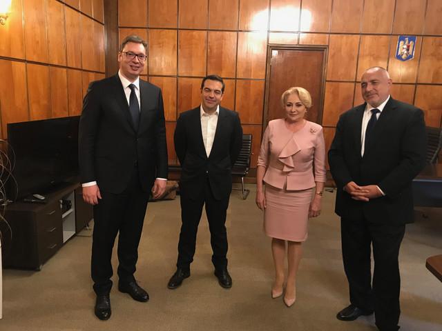 Aleksandar Vučić u Bukureštu