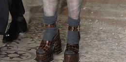 Toporne buty znanej projektantki