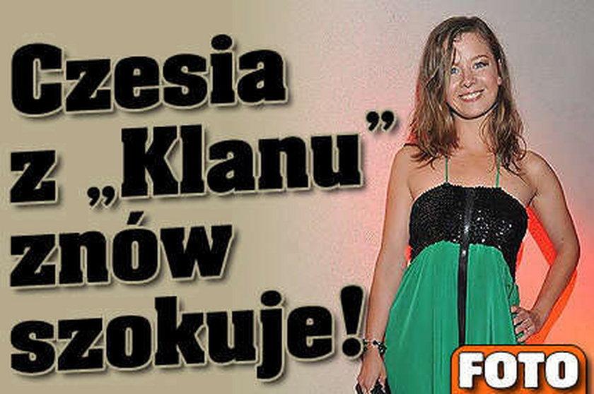 """Czesia z """"Klanu"""" znów szokuje! FOTO"""