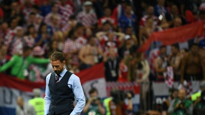 Southgate's England slipped to defeat with a World Cup final in sight