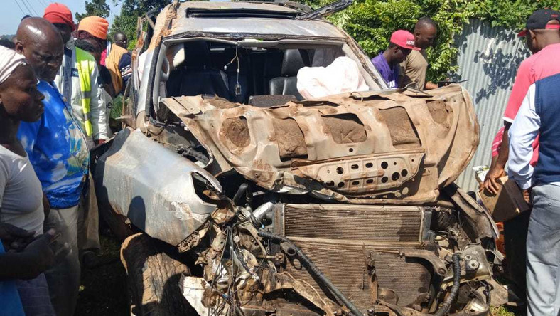 Former Kabondo Kasipul MP admitted in hospital following a road accident