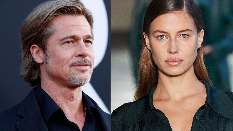 Szybki koniec miłości. Brad Pitt i Nicole Poturalski rozstali się