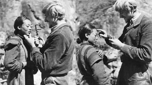 Badania antropologiczne Bruno Begera w Tybecie
