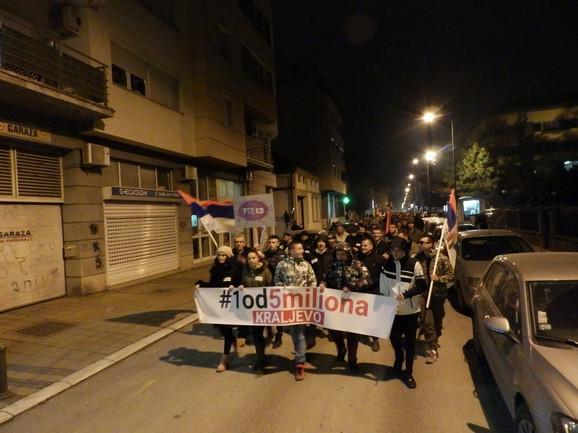 Protest u Kraljevu