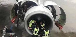 Samolot mógł rozbić się przez staruszkę. Co zrobiła?
