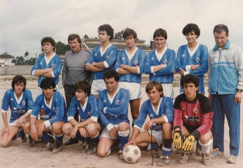 Paulo Sousa wyróżniał się grą już w lokalnym zespole w Viseu.