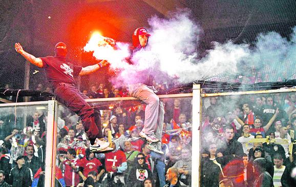 Mediji su spekulisali da je Stojanović stajao iza nereda na utakmici Italija - Srbija u Đenovi 2010. godine