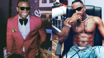 Harmonize throws shade at Diamond for neglecting his Father during live Performance (Video)