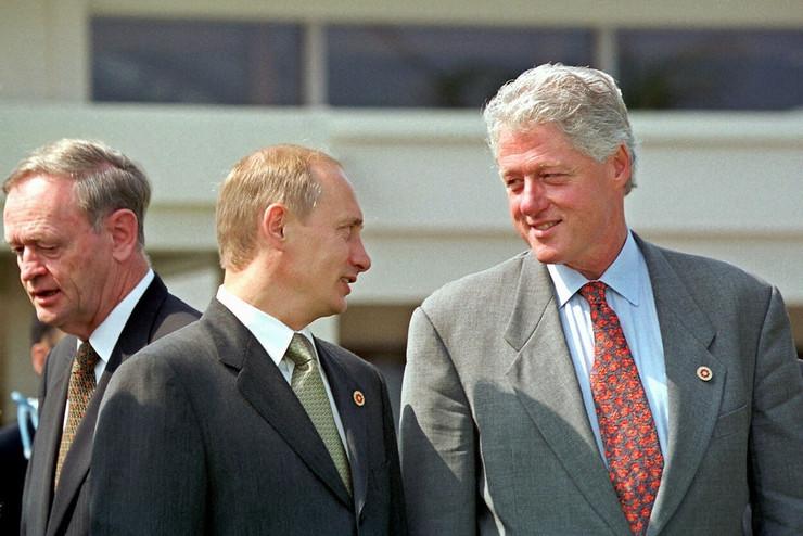 Putin Klinton