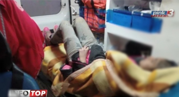 Monika je u bolnicu prevezena u ćebetu