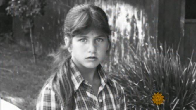 Dženifer Aniston kao tinejdžerka
