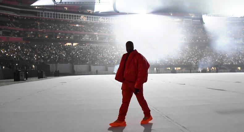 DONDA By Kanye West Listening Event At Mercedes Benz Stadium In Atlanta, GA