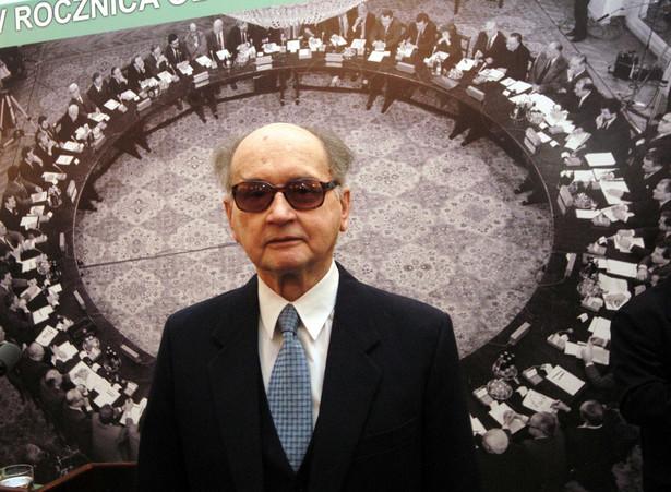 Wojciech Jaruzelski. Fot. PAP/Radek Pietruszka