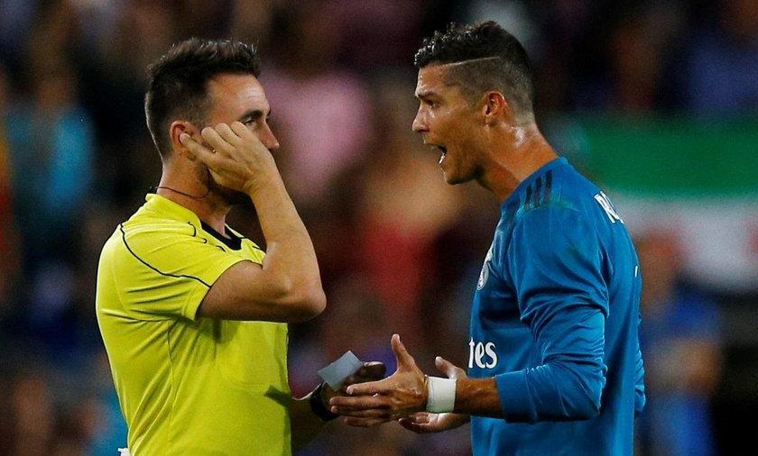 Ronaldo nie wytrzymał. Grozi mu 12 meczów zawieszenia!