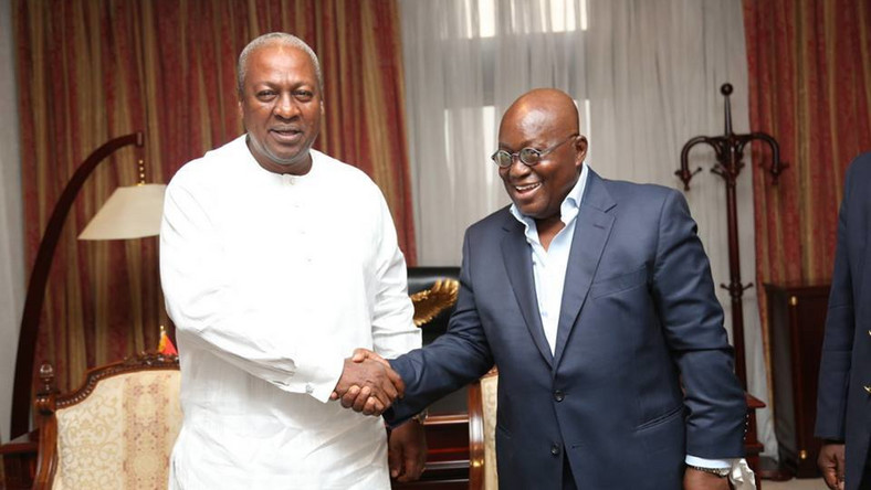 President-elect Nana Addo commends Mahama to hand over peaceful ...