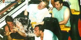 Śmieszne zdjęcia z rollercoastera
