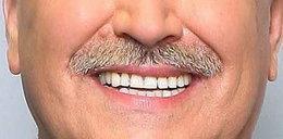 Zrobił karierę, bo ma ładne zęby. Foto