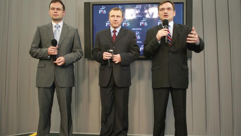 Arkadiusz Mularczyk, Jacek Kurski i Zbigniew Ziobro