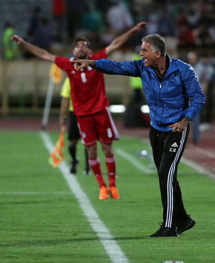 Karlos Keiroš fudbalska reprezentacija Irana