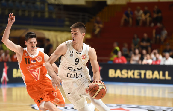 Vanja Marinković je bio najbolji u pobedi Partizana nad Metalcem