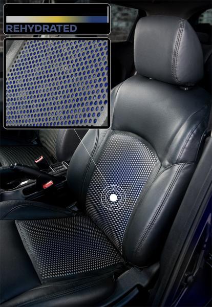Gdy niebieski kolor zniknie a pojawi się żółty, to wówczas kierowca powinien jak najszybciej uzupełnić płyny