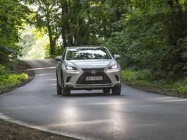 SUV-y Lexusa z lotu ptaka – nowa perspektywa?