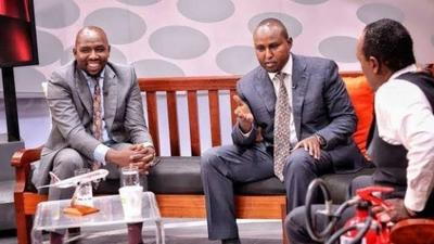 Emotions flare as Murkomen and Junet Mohamed clash in a bitter exchange