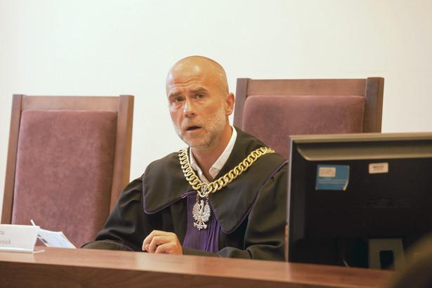 Sędzia Piotr Mgłosiek