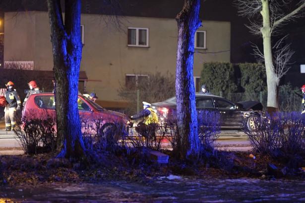 Wypadek z udziałem auta b. premier Beaty Szydło