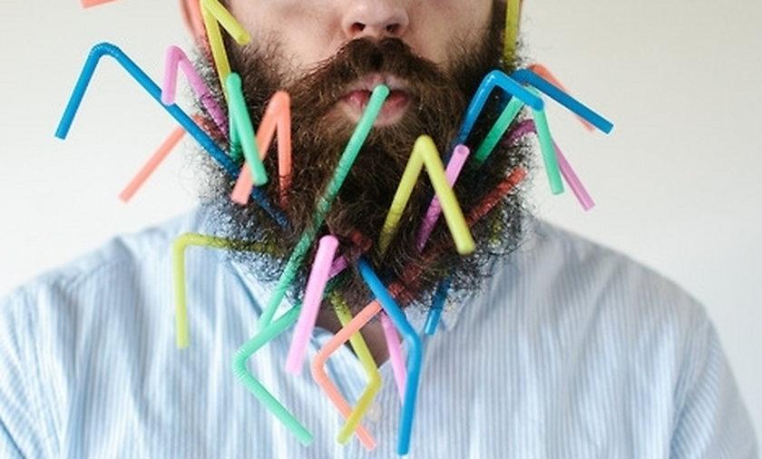 Pan z brodą