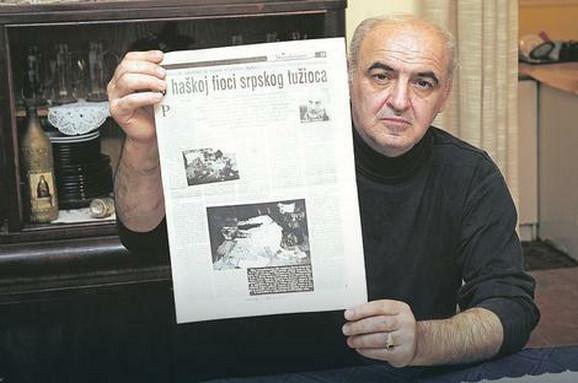 Zvonimir Gvozdenović, otac ubijenog Vukote