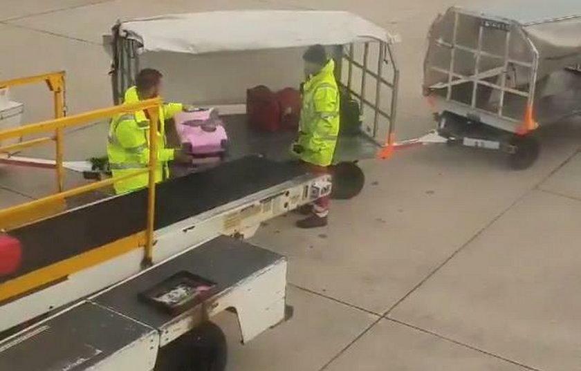 Tak traktują nasze bagaże na lotnisku.