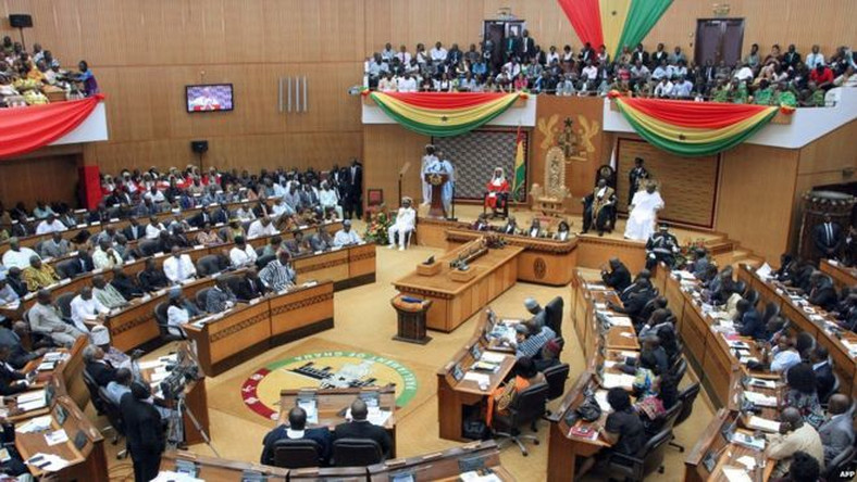 Ghana's Minority in Parliament boycotts swearing in of new MP, they called her 'Bloody Widow'