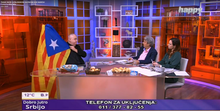 Nenad Čanak, Milomir Marić, Katalonija, Zastava, Studio