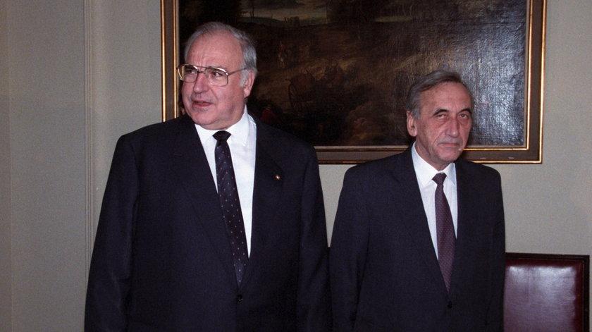 Wizyta kanclerza RFN Helmuta Kohla  w Polsce