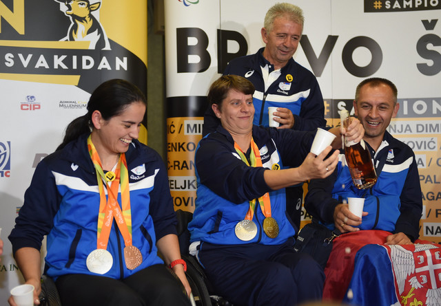 Paraolimpijska reprezentacija Srbije