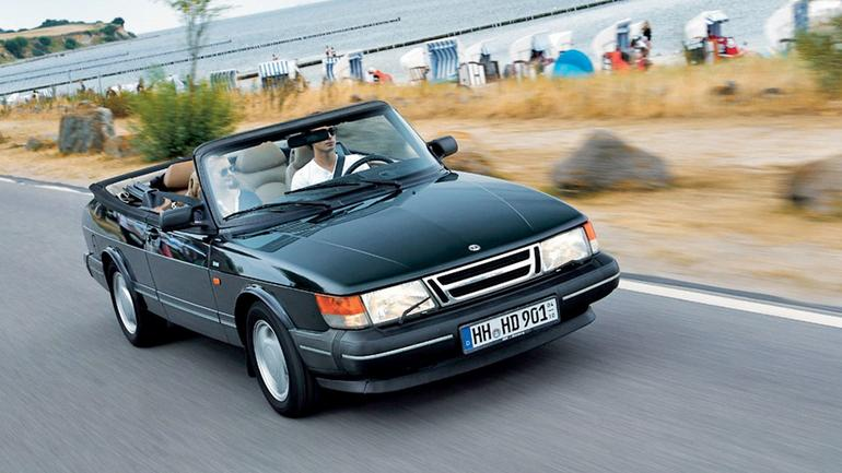 Saab 900 - ponadczasowy kabriolet