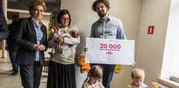 Karta Dużej Rodziny numer 20.000