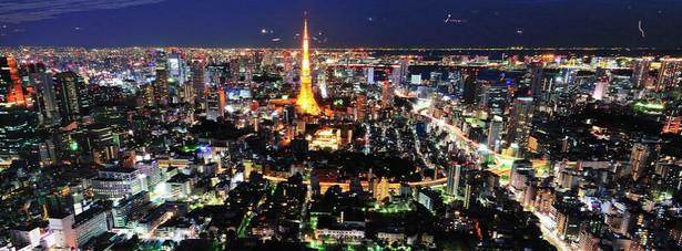 1.Tokio. Stolicę Japonii zamieszkuje 34,5 mln osób.