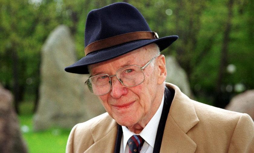 Jan Nowak-Jeziorański w 2002 r.