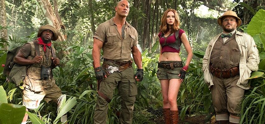 """""""Jumanji. Przygoda w dżungli"""". Licealiści zagubieni w groźnym świecie"""