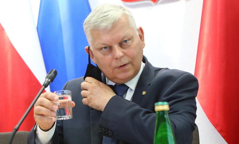 Poseł PiS Marek Suski jest twarzą ustawy anty-TVN.