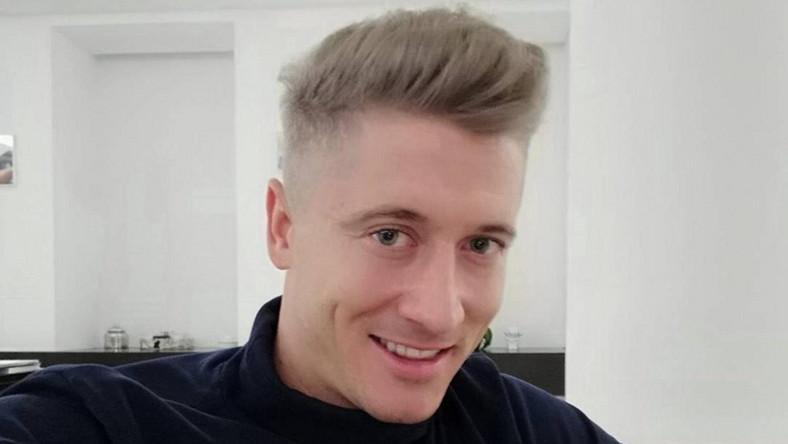Robert Lewandowski Ma Siwe Włosy Dlaczego Zmienił Kolor