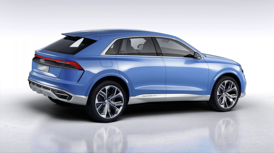 Audi Q8 Concept – hybrydowy SUV coupe