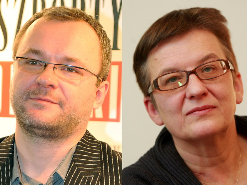 Ignacy Karpowicz i Kinga Dunin